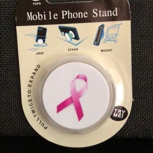 Accessories - Cancer ribbon mobile phone stand